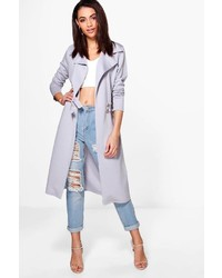 Boohoo Eloise Military Style Duster