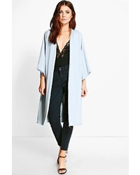 Katie kimono sleeve collarless duster medium 4312321