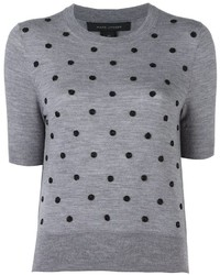 Marc Jacobs Embellished Knit Top