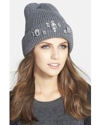 Jewel embellished beanie medium 175554