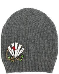 No.21 No21 Embellished Knitted Beanie Hat