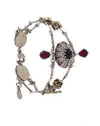 Alexander McQueen Bee Embellished Bracelet