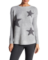 Philosophy Apparel Star Embellished Sweater