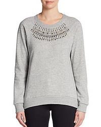 Stud detail raglan sweatshirt medium 190644