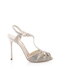 Sergio Rossi Murmansk Crystal Embellished Sandals