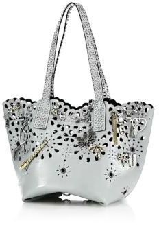 fef8b4a93051 ... Marc Jacobs Embellished Laser Cut Leather Tote ...