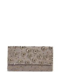 AREA STARS Cybil Beaded Clutch