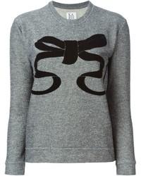 Zoe Karssen Bow Appliqu Sweatshirt