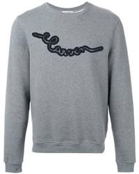Carven Embroidered Logo Sweatshirt