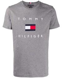 Tommy Hilfiger Flag Crewneck T Shirt