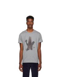Moncler Grey Maglia T Shirt