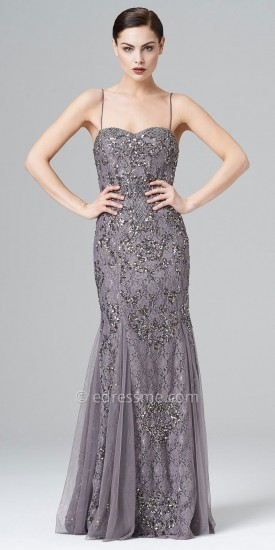 Embroidered Evening Dresses