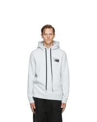 Unravel Grey Concrete T Brush Hoodie