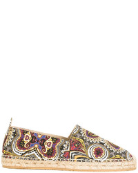 Etro Embroidered Espadrilles