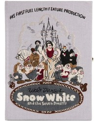 Webster le bon marche x the olympia le tan snow white clutch medium 286952