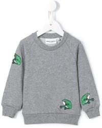 Mini Rodini Frog Embroidered Sweatshirt