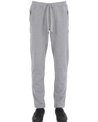 Grey Embroidered Sweatpants