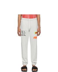 Heron Preston Grey Style Lounge Pants