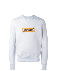 AMI Alexandre Mattiussi Embroidered Bisou Sweatshirt