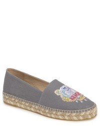 Kenzo Rainbow Tiger Embroidered Espadrille