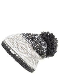 Jacquard knit beanie medium 401160