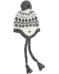 Quiksilver Roxy Down Rail Earflap Knit Beanie