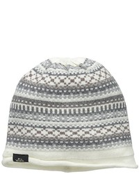 Woolrich Fairisle Knit Cream Cap