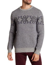 Barque fair isle knit sweater medium 1157394