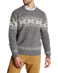 Barque fair isle knit sweater medium 1157395