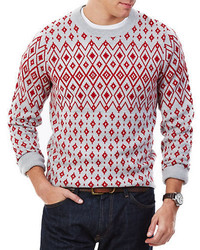 Nautica Fair Isle Pullover Sweater