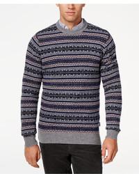 Barbour Harvard Fair Isle Crew Neck Sweater | Where to buy & how ...