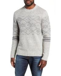 Michael Bastian Michl Bastian Fair Isle Regular Fit Sweater
