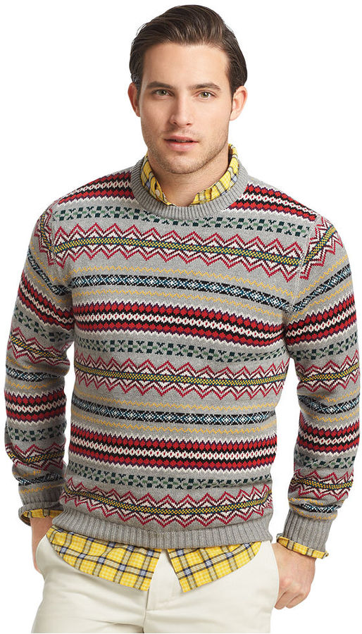 Izod Ski Club Fair Isle Sweater | Where to buy & how to wear