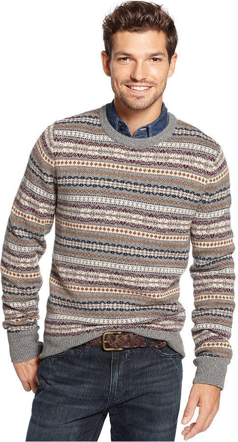 Tommy Hilfiger Sweater Trolman Fair Isle Sweater | Where to buy ...