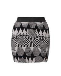 Numph wilma mini skirt grey medium 92014
