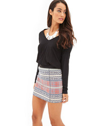 Tribal print miniskirt medium 92016
