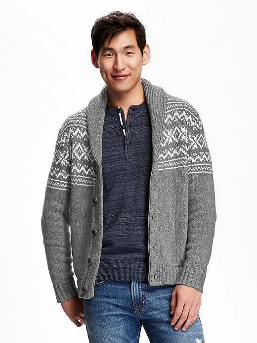 Old Navy Fair Isle Cardigan | Where to buy & how to wear