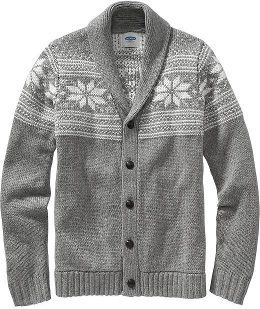 Old Navy Fair Isle Cardigans