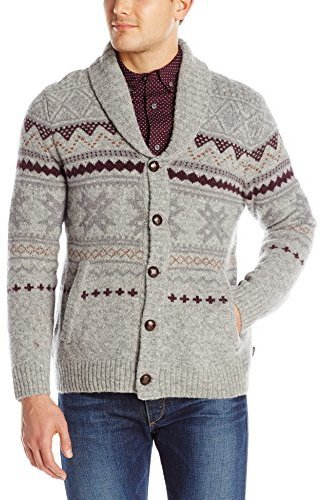 Woolrich Ultra Line Fair Isle Cardigan | Where to buy & how to wear