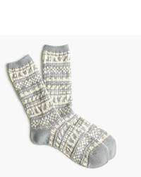 Cozy trouser socks in fair isle medium 957037