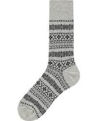 Uniqlo Fair Isle Socks