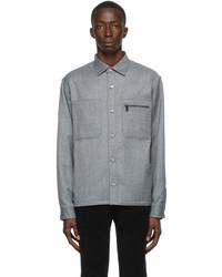 Z Zegna Techmerino Flannel Shirt