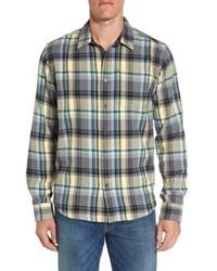 Woodman regular fit flannel shirt medium 5208282