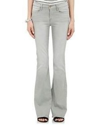 Frame Le High Flare Jeans Grey