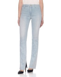Joes collectors micro flare split raw hem jeans medium 4343612