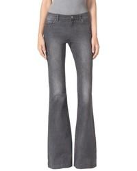 Grey Flare Jeans for Women | Women's Fashion