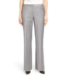 Classiques Entier Wool Blend Flare Leg Suit Pants