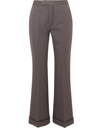 Maison Margiela Cropped Cady Flared Pants
