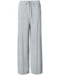Oscar de la Renta Flared Trousers