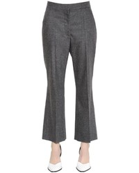 Flared wool cashmere pants medium 3666184